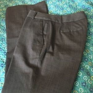 Banana Republic Lined Wool Blend Pants 2P